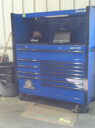 Matco MB8525 tool box - $3000 (HoweMcKinney)