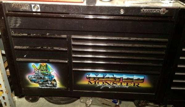 Matco monster fifth edition rat fink numbered Tool Box - $2000 (Van alstyne)