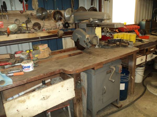 Multiplex 40-A radial arm saw - $300 (sandpoint)