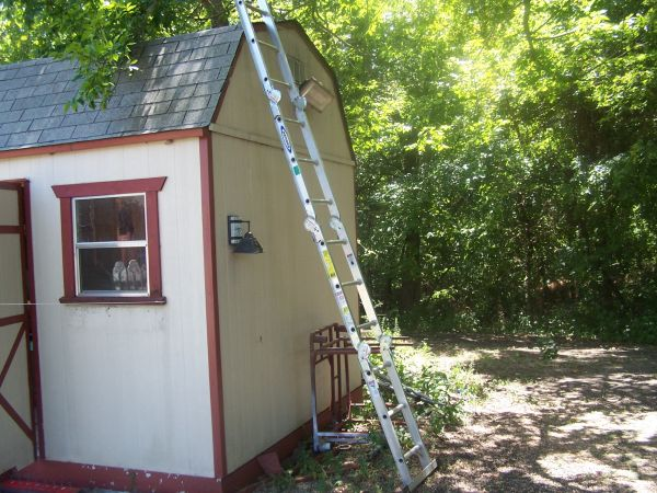 Werner Ladder, M2-6-12, 6 step ladder or 12 extension ladder - $65 (Howe)