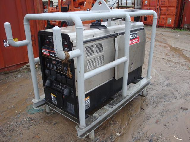 4 000  2008 Lincoln Vantage 400 Diesel Welder with 226 Original Hours