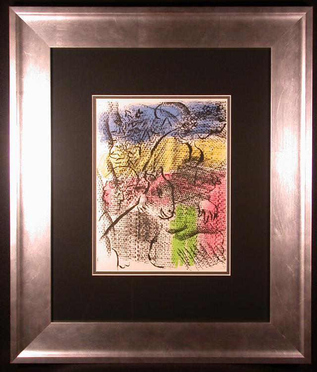 820  XXe Siecle 1970 Orig Color Lithograph by Marc Chagall