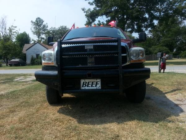 2003-08 dodge ranch hand bumper sale or trade - $450 (madill)