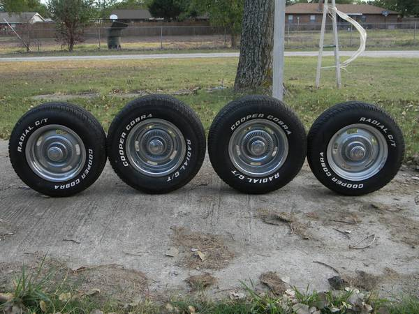 Chevy Rally Wheels and Tires Excellent Condition - $700 (Lone Grove, OK )