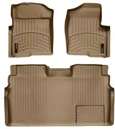 WeatherTech DigitalFit Ford F150 Tan Floor Mats - $90 (Sherman)
