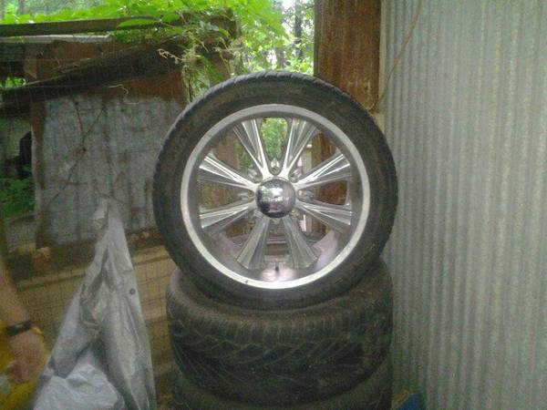 22 Panther wheels for 8 lug Dodge or chevy - $600 (Colbert OK)
