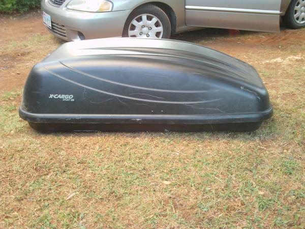 X-Cargo Sport 20 Car Top Carrier $75.00 OBO - $75 (75020-25)