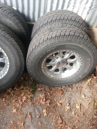 2006 34 TON GMC RIMS AND TIRES - $250 (COLBERT)