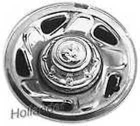 94-01 Dodge 2500 Chrome factory wheels - $100 (Milburn)