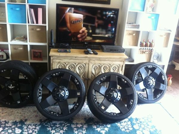 Rock star rims and tires - $2000