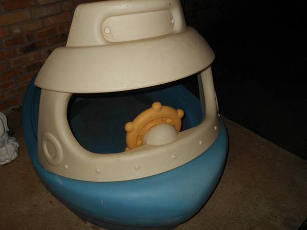 Step 2 Tug boat Sandbox - $25 (Sherman)