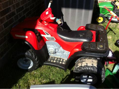 Power Wheels 4 wheeler - $50 (Caddo Mills TX)