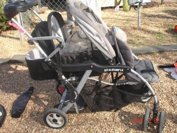 Babytrend - Sit-N-Stand Double Stroller -   x0024 25  Denison
