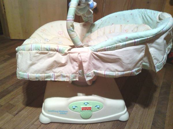Fisher-Price Soothing Motions Glider - Butter Bunny - x002445 (Denison)