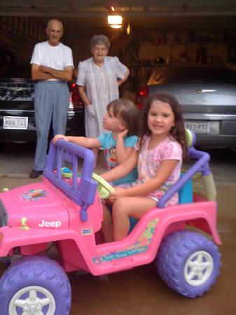 Barbie Jeep- Power Wheels - $50 (Sherman)