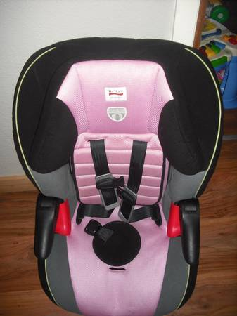 pink britax booster seat for sale. Black Bedroom Furniture Sets. Home Design Ideas