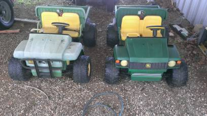 John Deere Power Wheel - $75 (DenisonSherman)