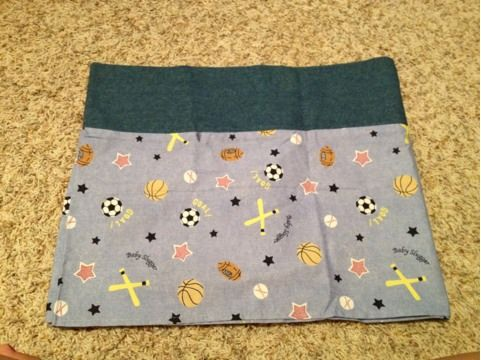 Crib bedding, blanket, window valance - $40 (Milburn )