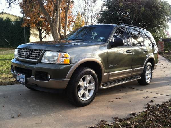 2004 Ford Explorer Eddie Bauer Low Miles Sunroof - $5500 (Honey Grove)