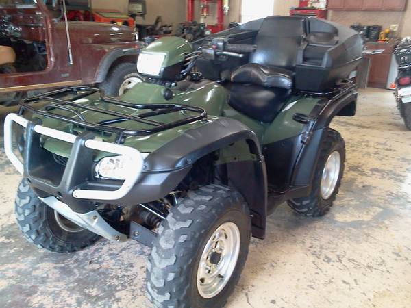 2006 Honda 4x4 ES Foreman Four wheeler Great Shape - $3500 (Honey Grove)