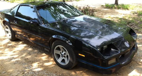 89 Iroc-Z Camaro with Low Miles - $8000 (Healdton, Ok.)