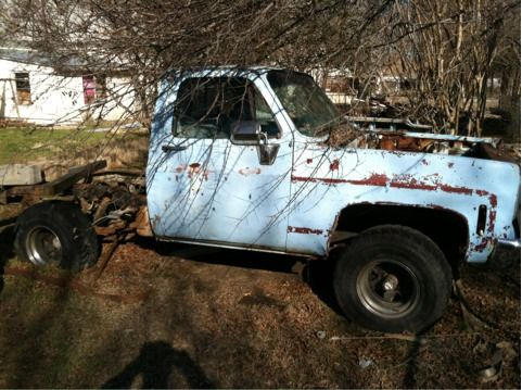 78 Chevy truck - $325 (Whitewright)