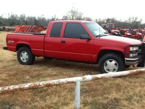 1998 chevrolet z71 - $4500 (Sherman)