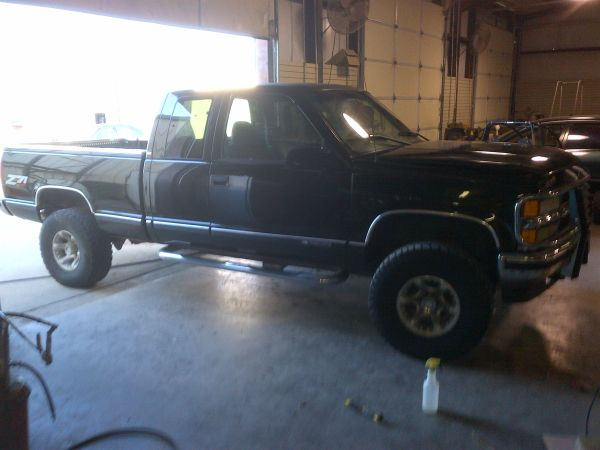1998 chevy z71 ext cab - $5500 (sherman)