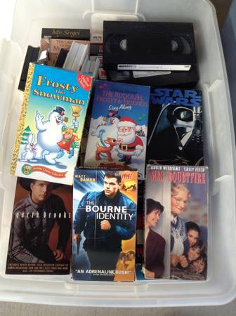 VCR Movies -  20  Collinsville