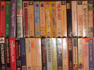 VHS Movie Modern Classic Collection, mint, many seald out of print (Richardson)