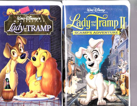 110 Disney Movies On VHS For Sale $2.00 Each, Or 10$15.00 - $2 (Lewisville)