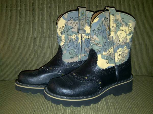 Ariat Fat Baby Boots, 2 Pair ....For Sale (Collinsville)