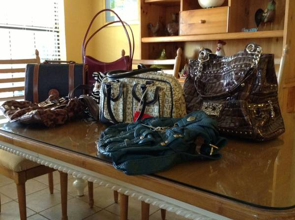 Group of Purses includes Dooneys Kathy Van Zealand - $100 (Collinsville 76233)