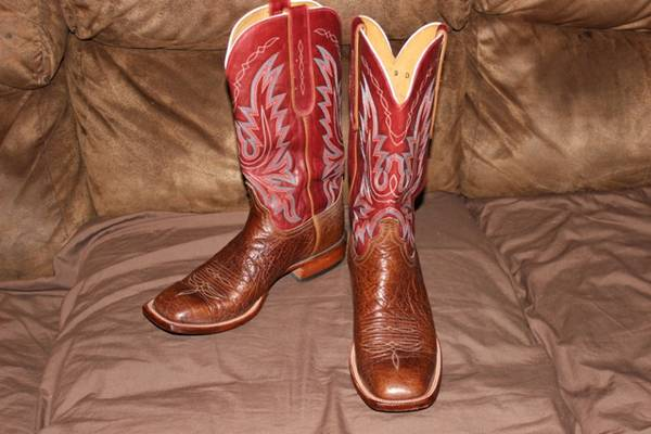 Nearly New Mens Lucchese Boots 9D - $80 (DenisonBonham)