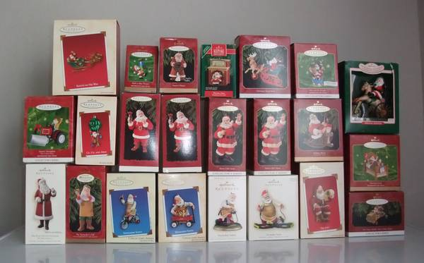 Hallmark Ornaments Collection - $135 (near Sherman, TX)