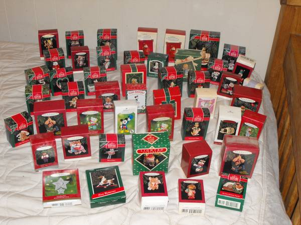 Hallmark Keepsake Christmas ornaments - $325 (Sherman)