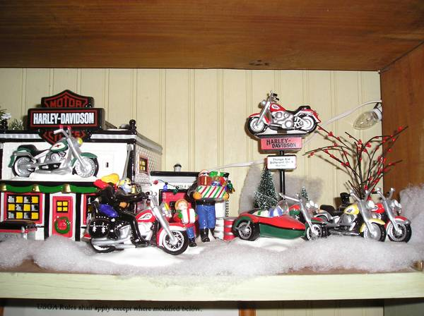 RETIRED DEPARTMENT 56 SNOW VILLAGE - $1100 (ADA, OKLAHOMA)