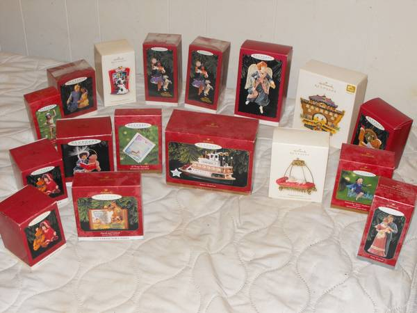 Hallmark Keepsake Christmas ornaments - $125 (Sherman)