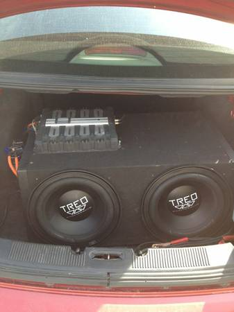 Two 12in Treo subs. 800 watt kenwood  - $250 (Ardmore area)