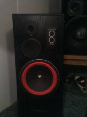 Pair of Cerwin Vega E-712 Mint condition 300 obo - $300 (colbert,ok)