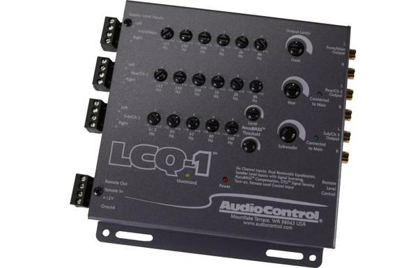 $1, AudioControl EQL Trunk-mount 2-channel equalizer with level matching