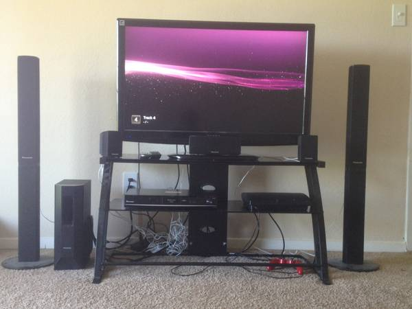 Great deal at $500 Dynex 40 1080p LCD, Panasonic 1000W Home Theater - $500 (Sherman)