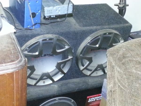 12 Eclipse Subwoofer Boxes - $100 (Kingston)