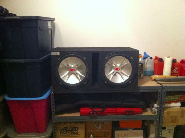 Kicker CVR 15 inch Subwoofers in Box (2 speakers) - $200 (Sherman, TX)