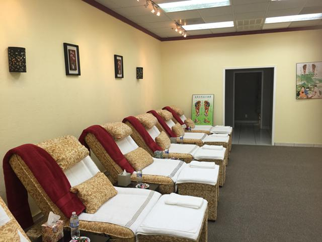 Foot great place to relax10677 E Northwest hwy suite 440 Dallas