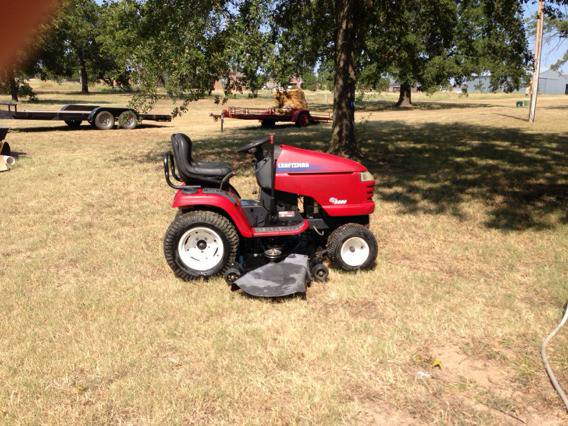 Used Craftsman Tractor Seat : Craftsman gt garden tractor for sale