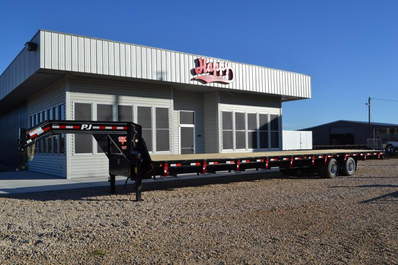 $15,195, 2015 PJ 102x40 Loaded GN Flatbed wHutch