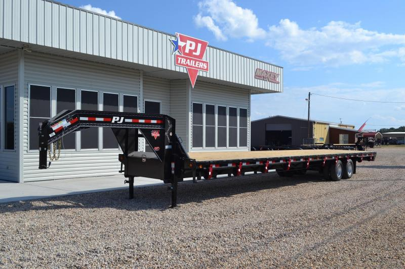 $16,695, 2015 PJ 102x40 Air Ride Gooseneck Flatbed
