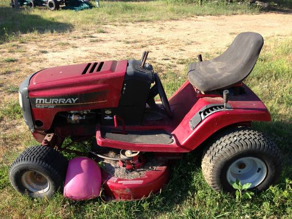 For Sale or Trade older Murray 12.5 HP 38 riding mower - $200 (Lake Ray Roberts)