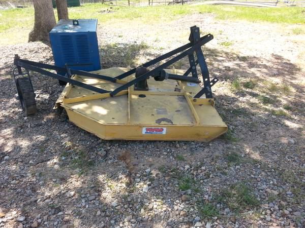 5 foot brush hog - $325 (Soper Oklahoma)